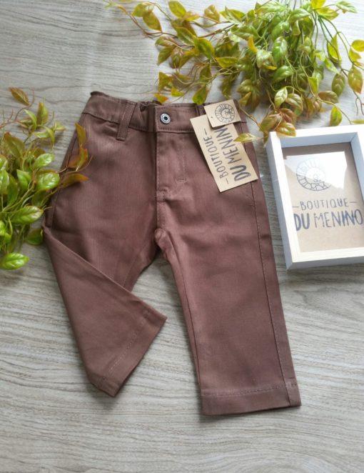 calça marrom